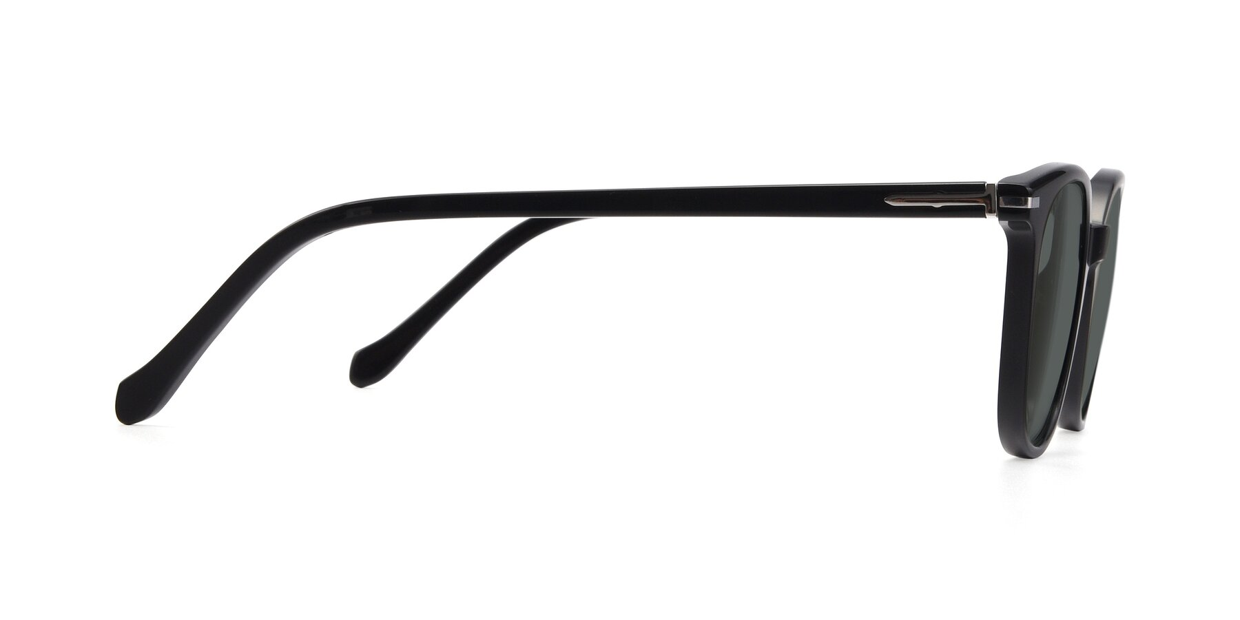 Side of 17562 in Black with Gray Polarized Lenses