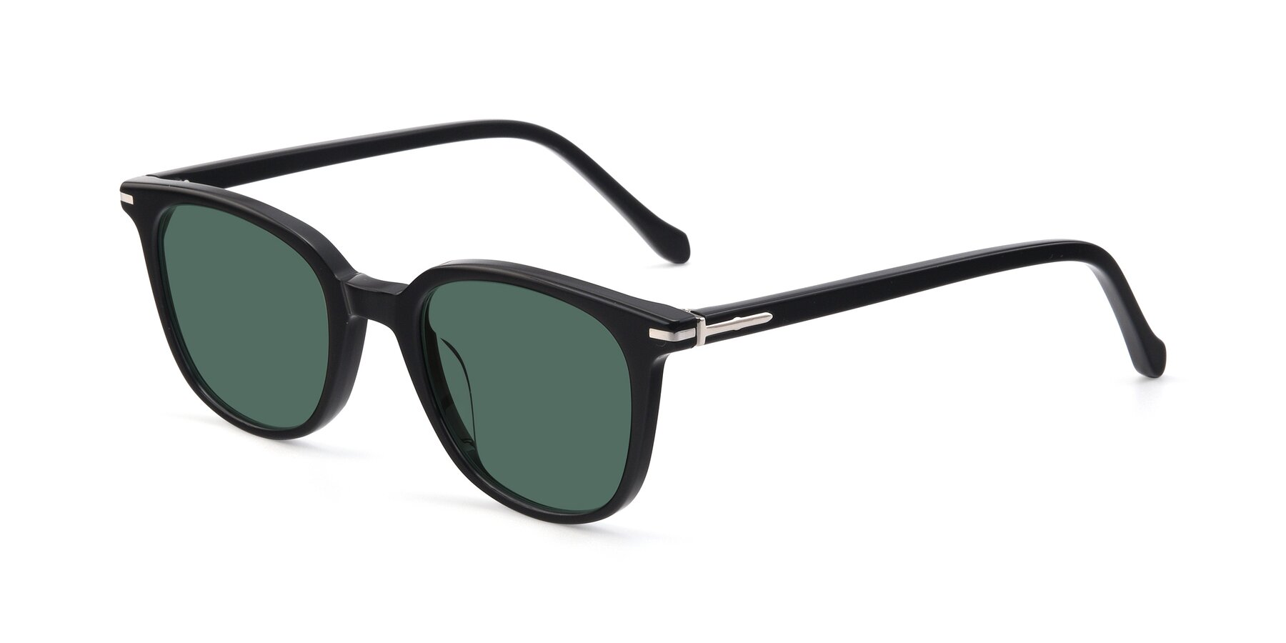 Angle of 17562 in Black with Green Polarized Lenses