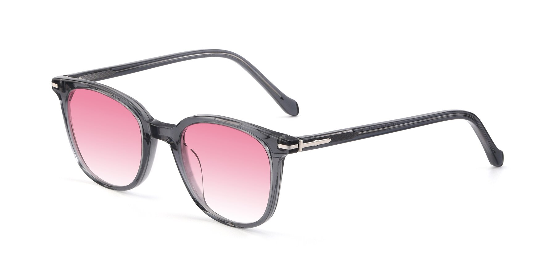 Angle of 17562 in Transparent Grey with Pink Gradient Lenses