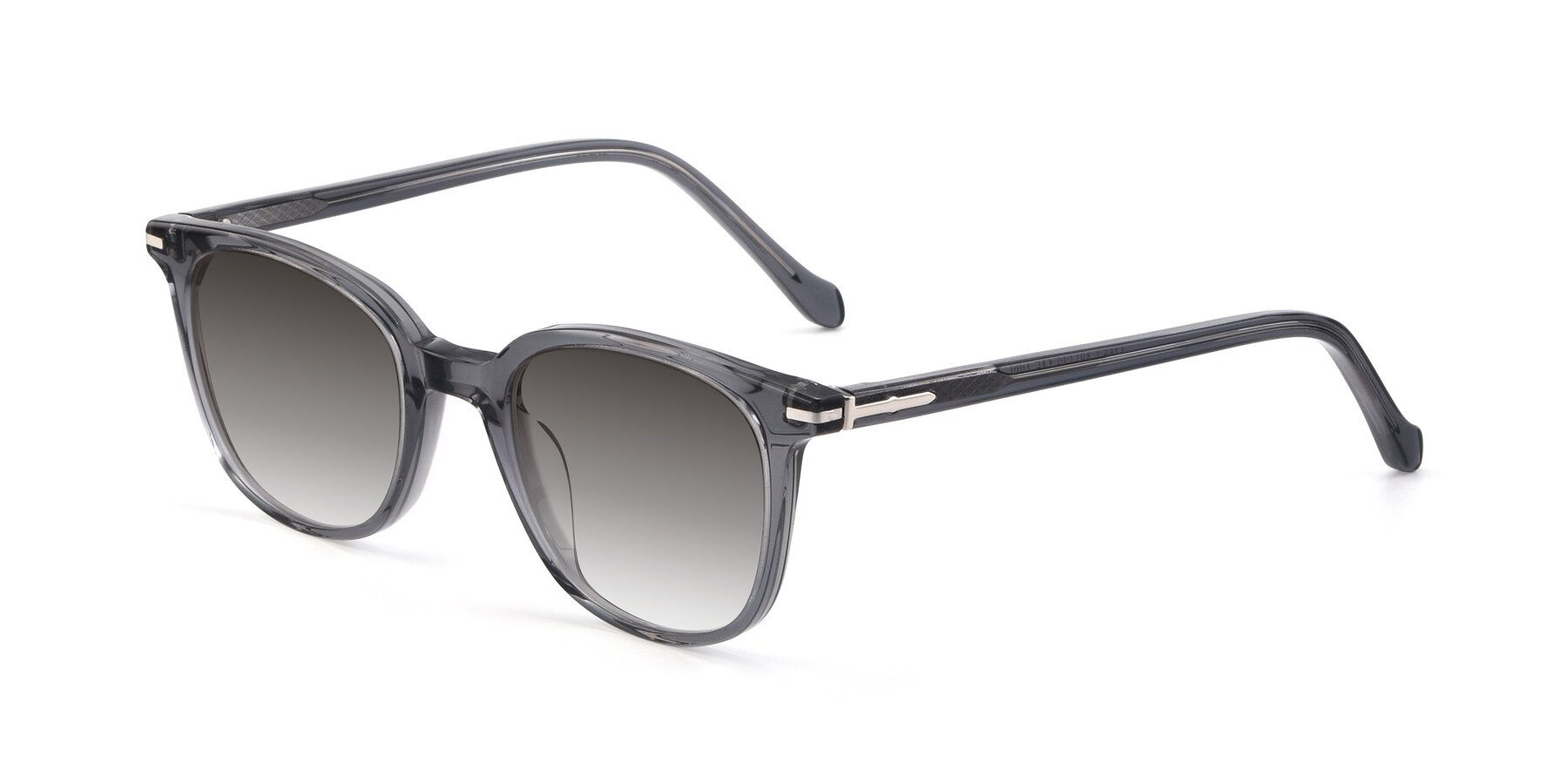 Angle of 17562 in Transparent Grey with Gray Gradient Lenses