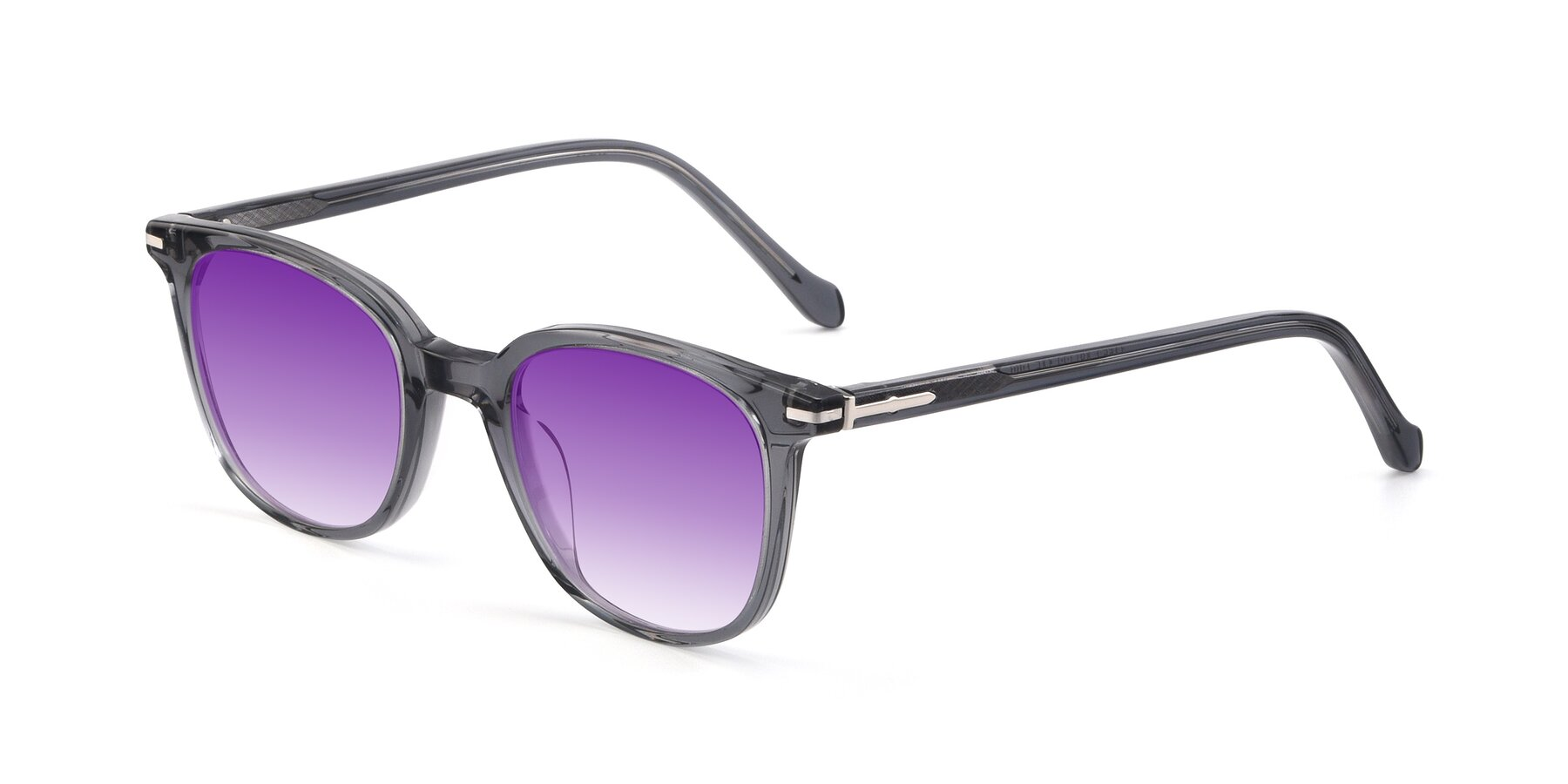 Angle of 17562 in Transparent Grey with Purple Gradient Lenses