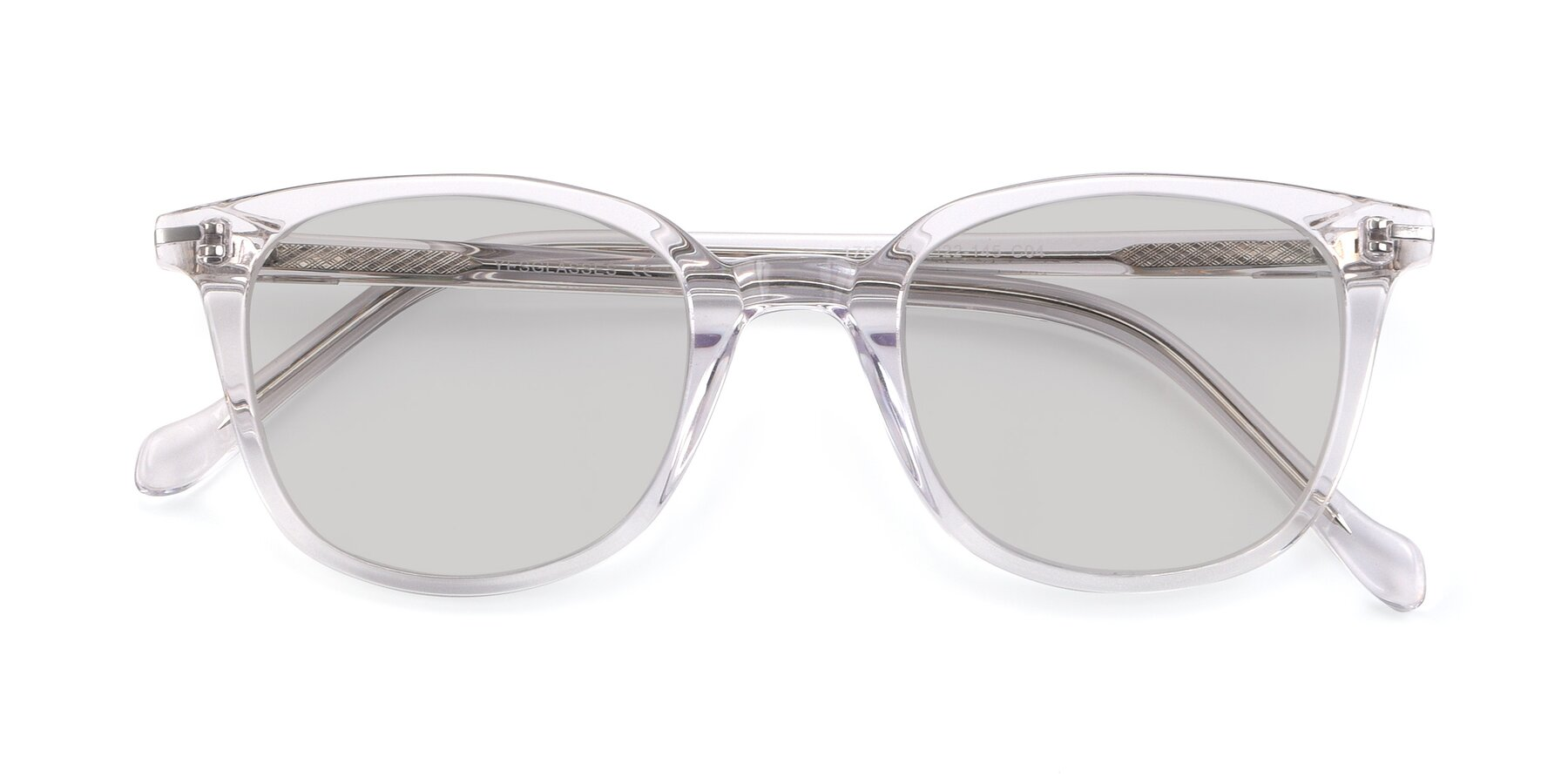 Folded Front of 17562 in Clear with Light Gray Tinted Lenses