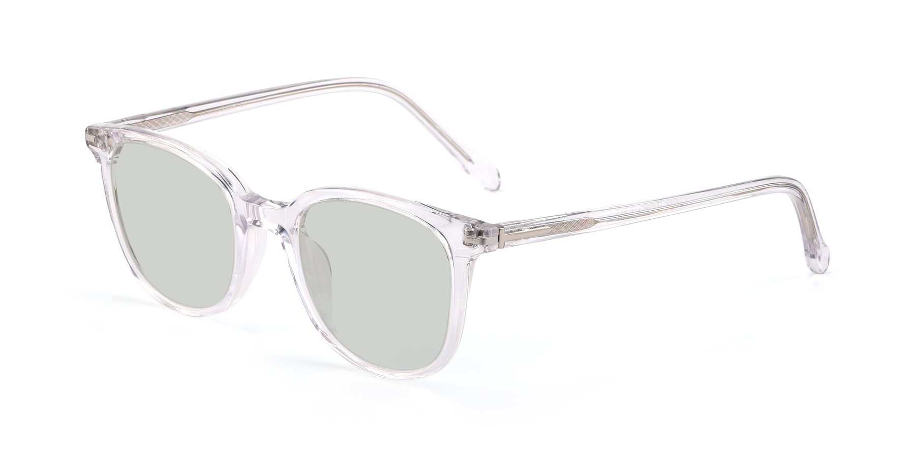 Angle of 17562 in Clear with Light Green Tinted Lenses