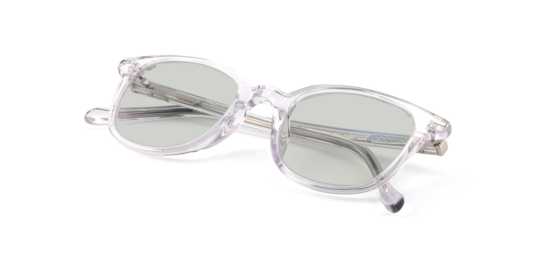 View of 17562 in Clear with Light Green Tinted Lenses