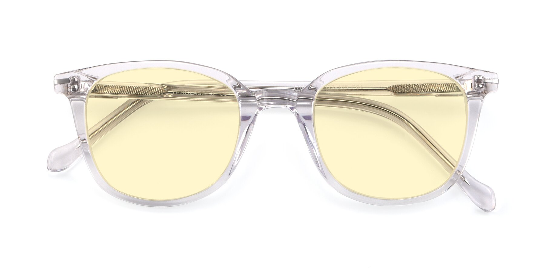 Folded Front of 17562 in Clear with Light Yellow Tinted Lenses