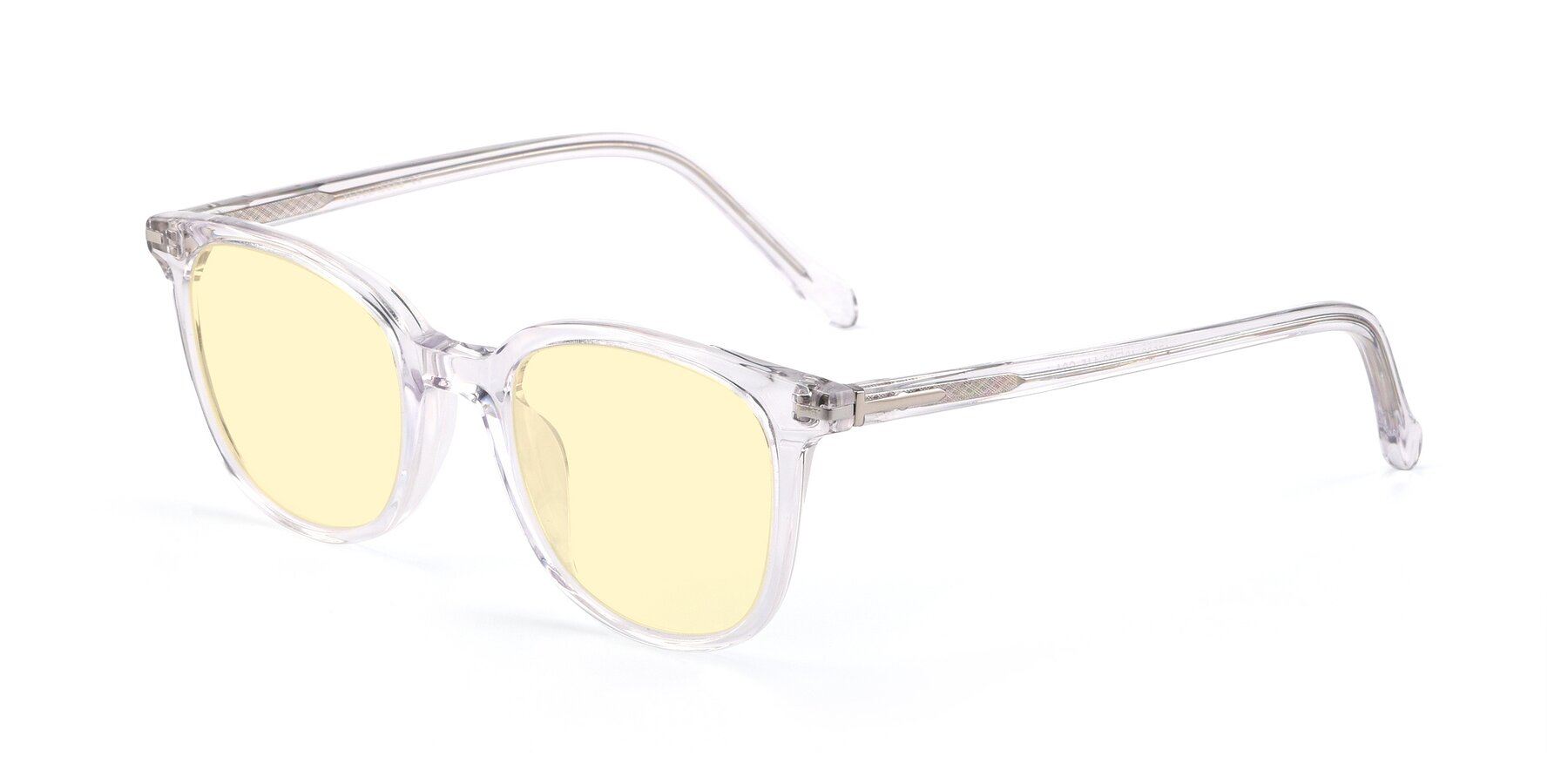 Angle of 17562 in Clear with Light Yellow Tinted Lenses