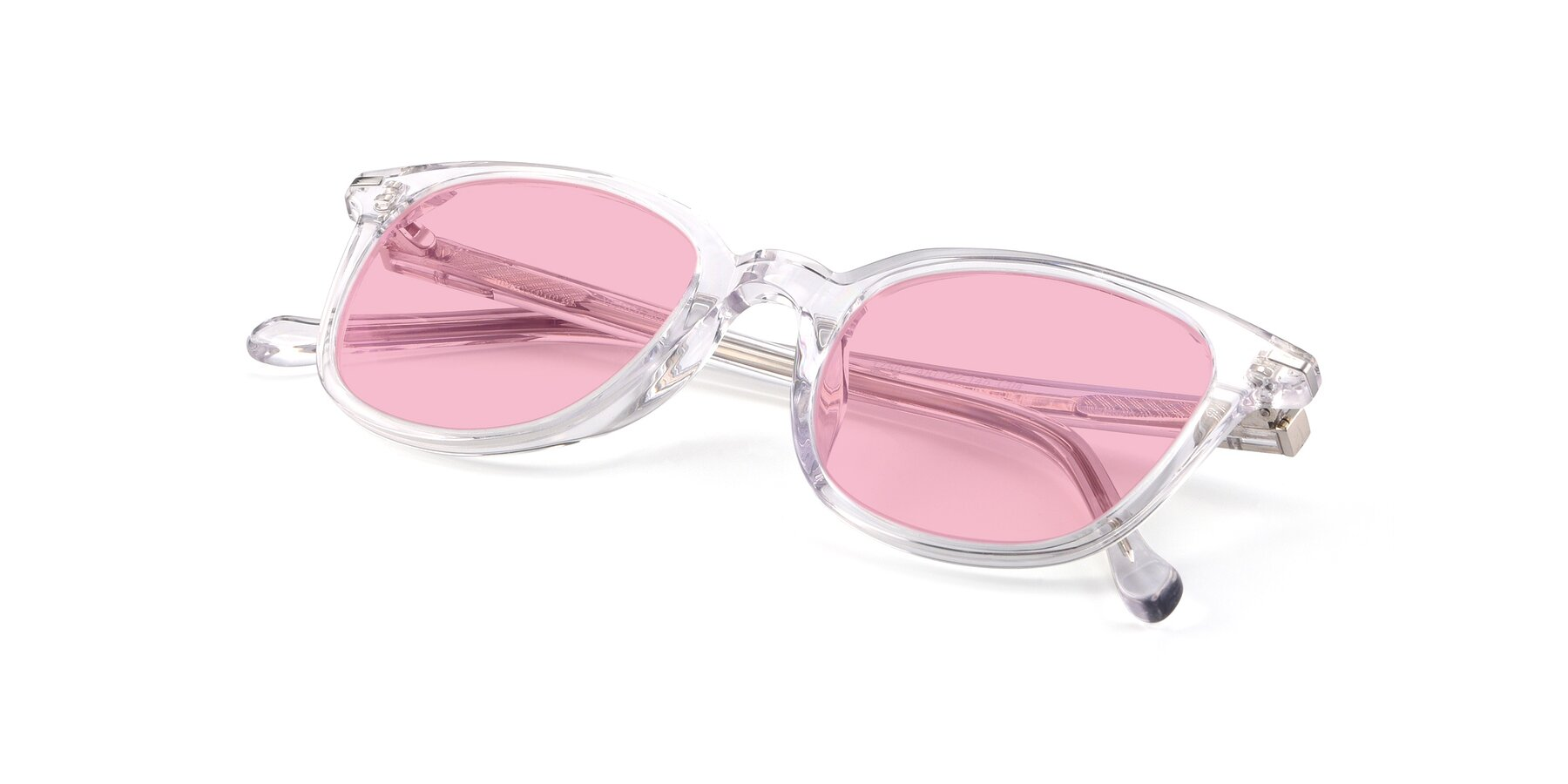 View of 17562 in Clear with Medium Pink Tinted Lenses