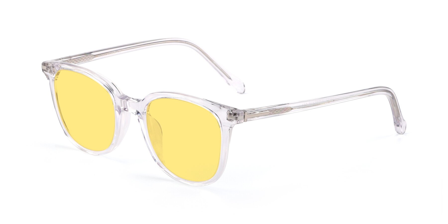 Angle of 17562 in Clear with Medium Yellow Tinted Lenses
