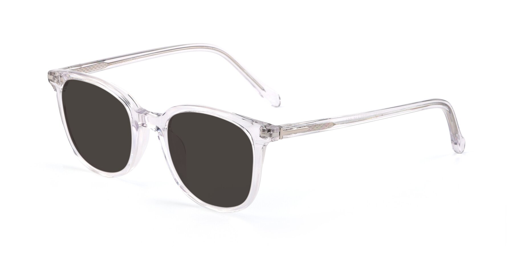 Angle of 17562 in Clear with Gray Tinted Lenses