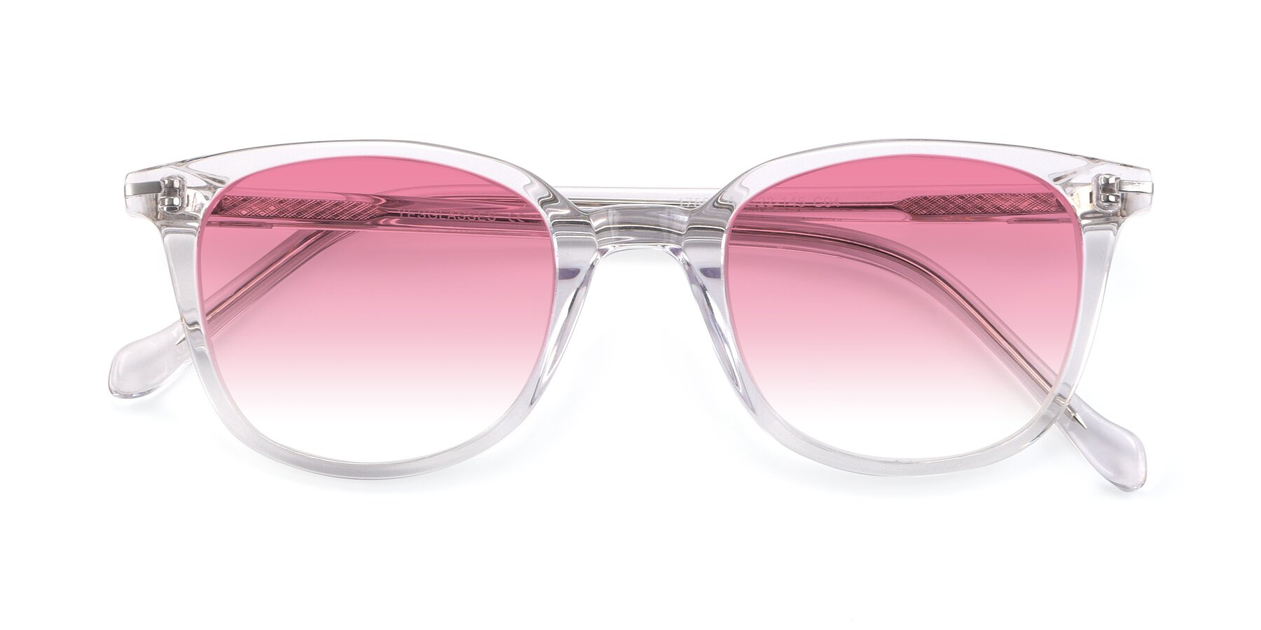 Folded Front of 17562 in Clear with Pink Gradient Lenses