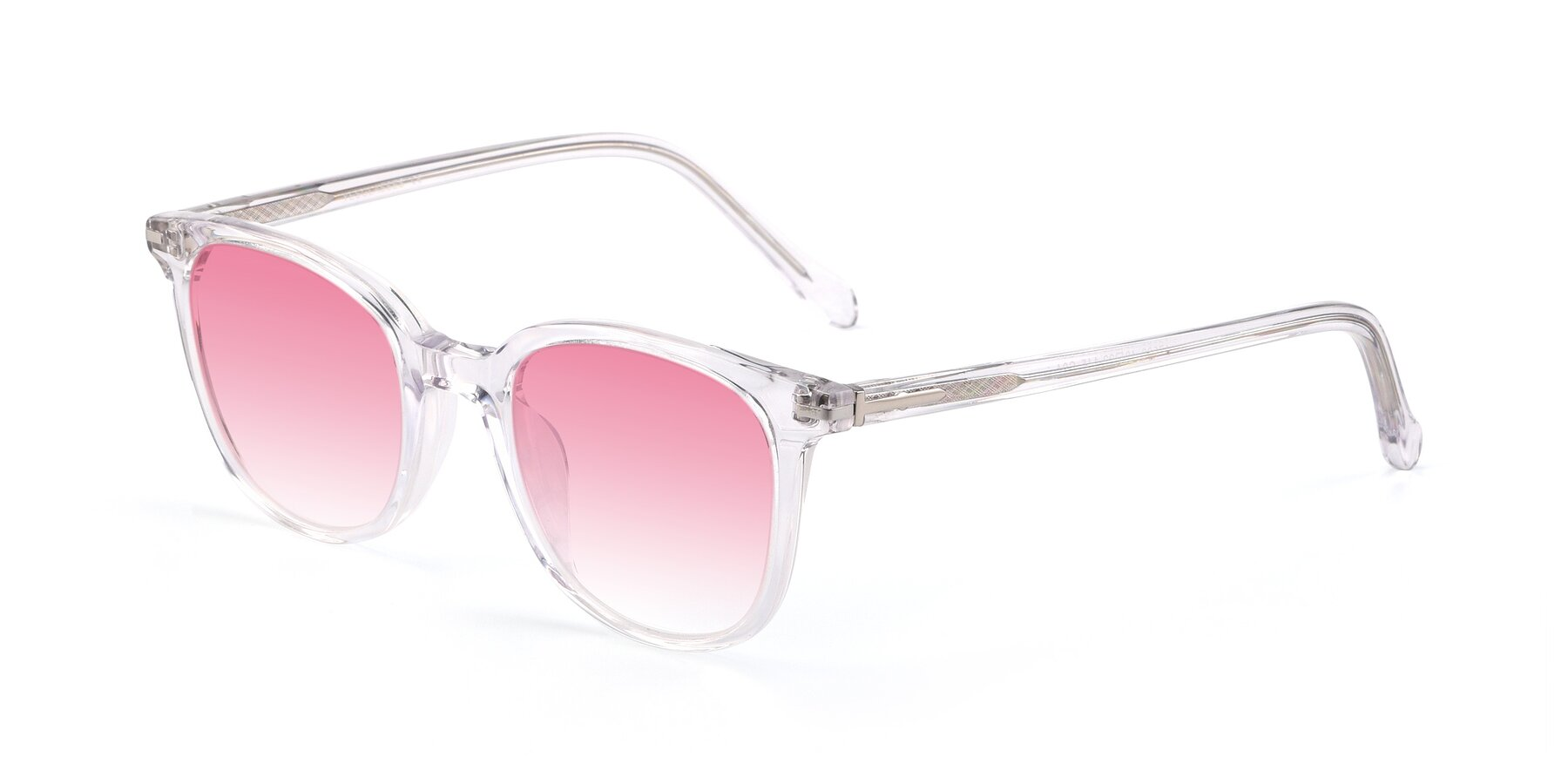 Angle of 17562 in Clear with Pink Gradient Lenses