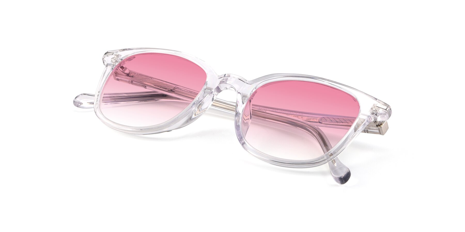 View of 17562 in Clear with Pink Gradient Lenses