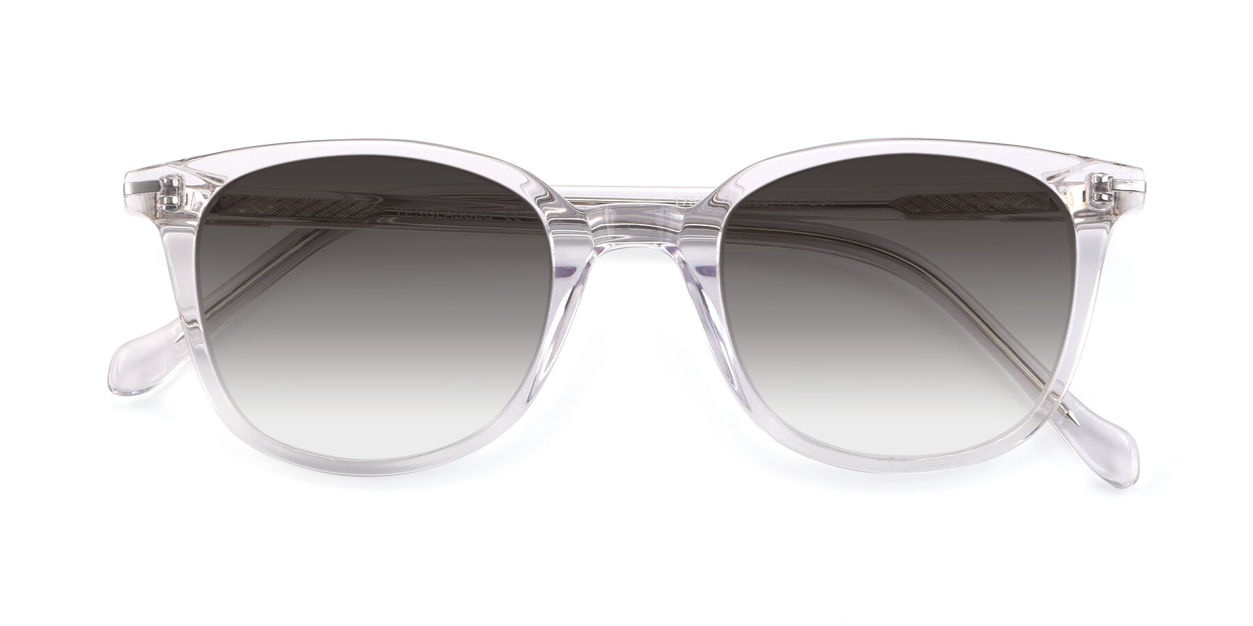 Folded Front of 17562 in Clear with Gray Gradient Lenses