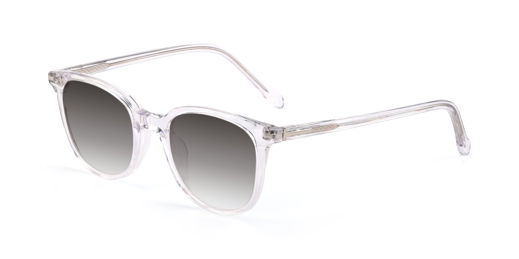 Angle of 17562 in Clear with Gray Gradient Lenses