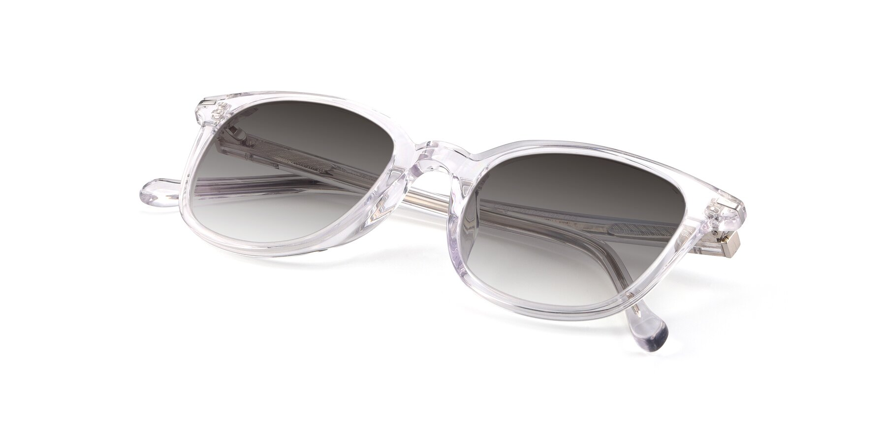 View of 17562 in Clear with Gray Gradient Lenses