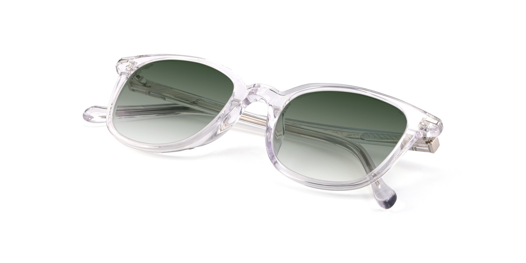View of 17562 in Clear with Green Gradient Lenses