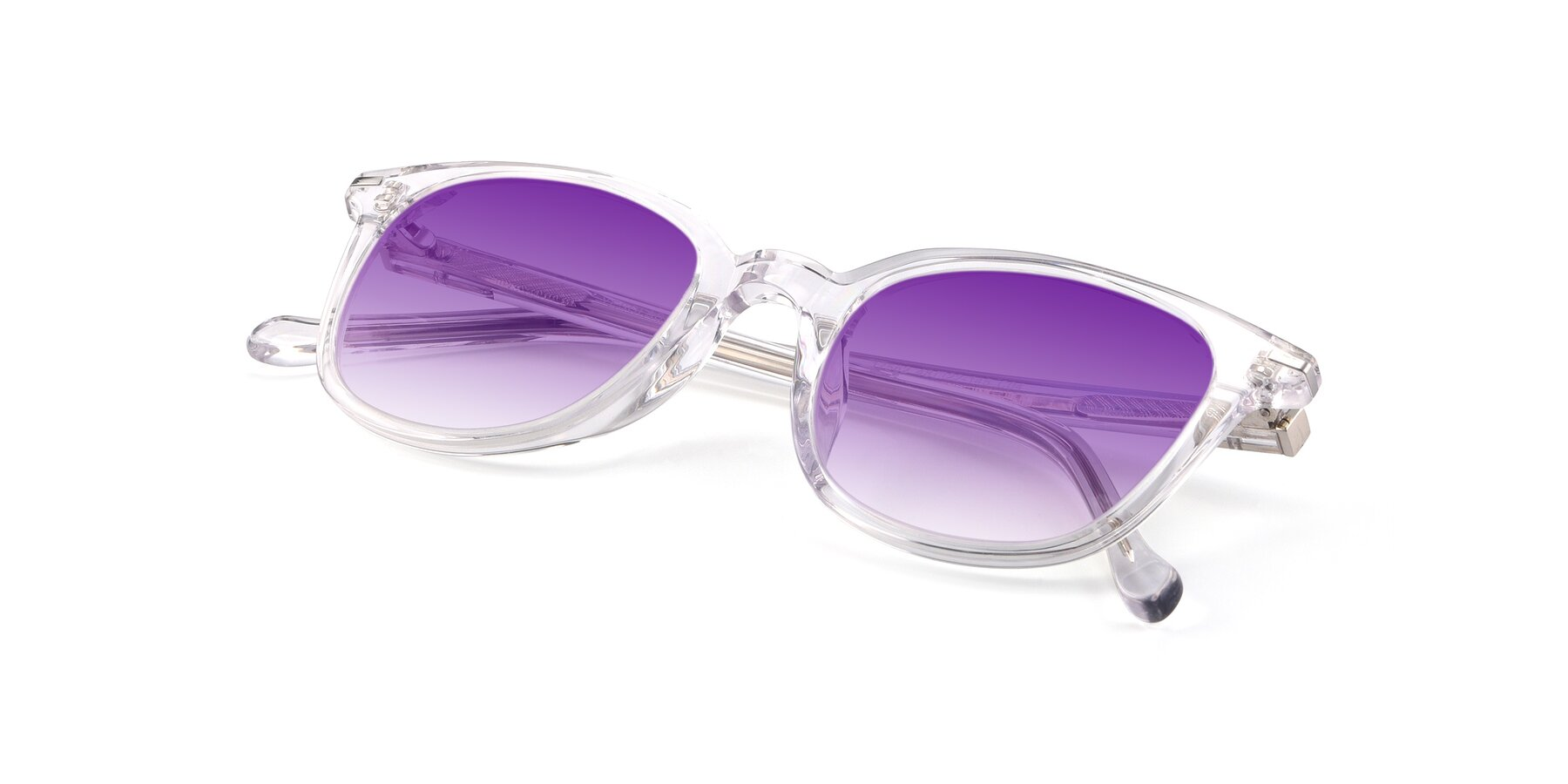 View of 17562 in Clear with Purple Gradient Lenses