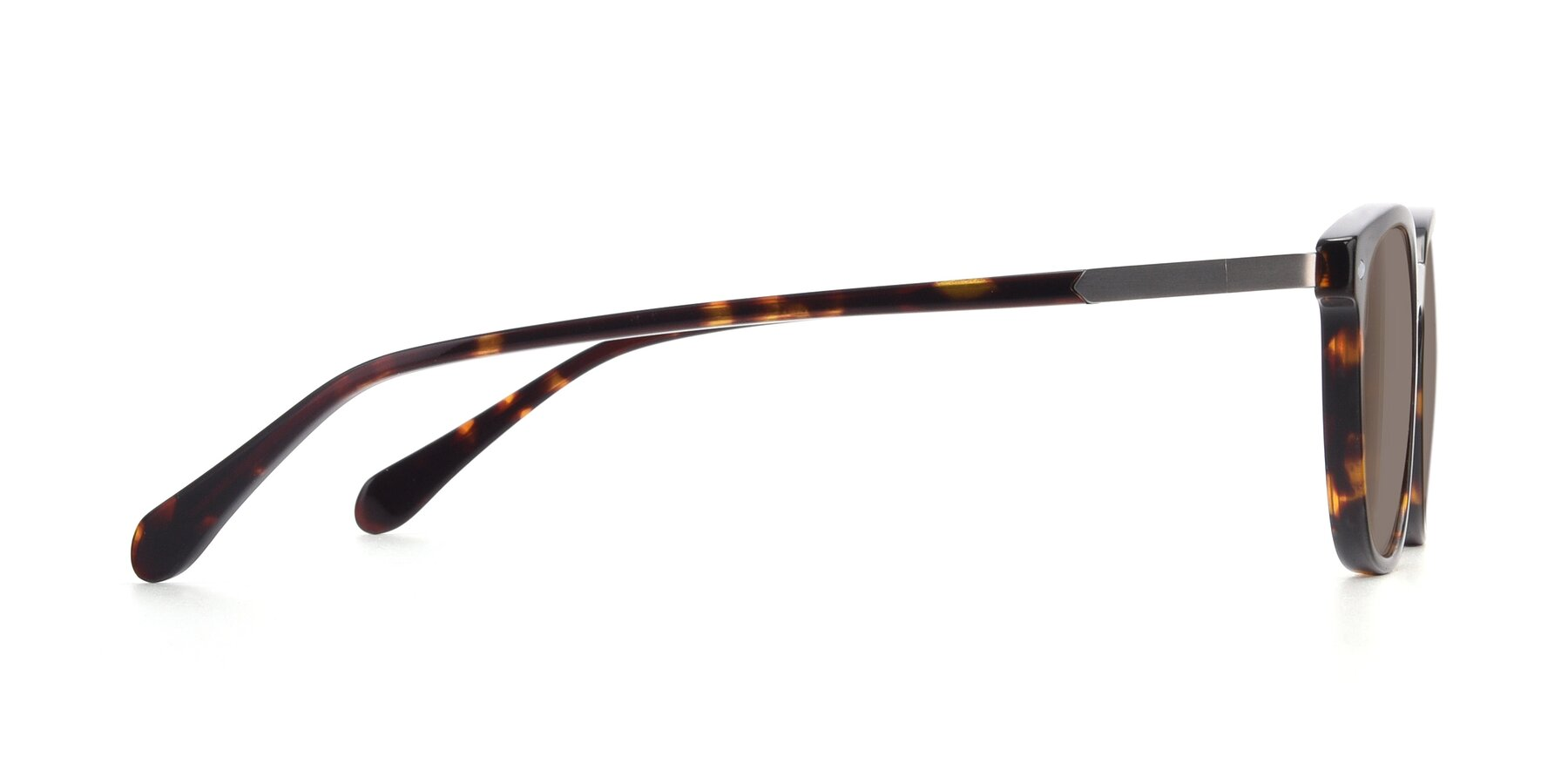 Side of 17578 in Tortoise with Medium Brown Tinted Lenses
