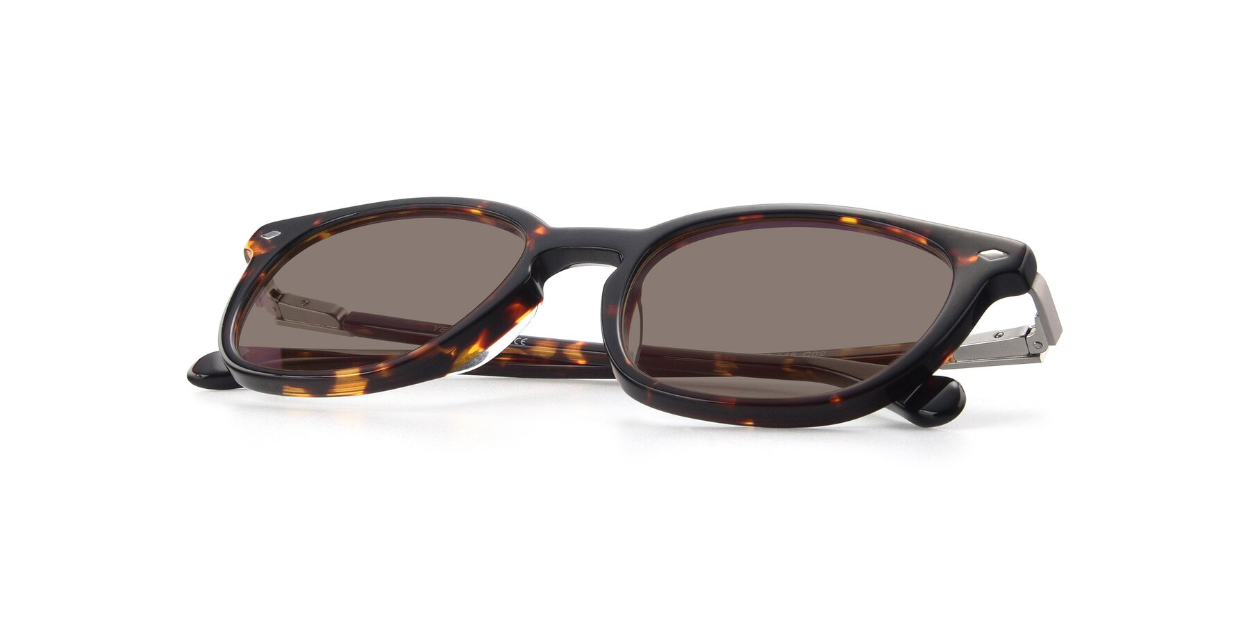 View of 17578 in Tortoise with Medium Brown Tinted Lenses