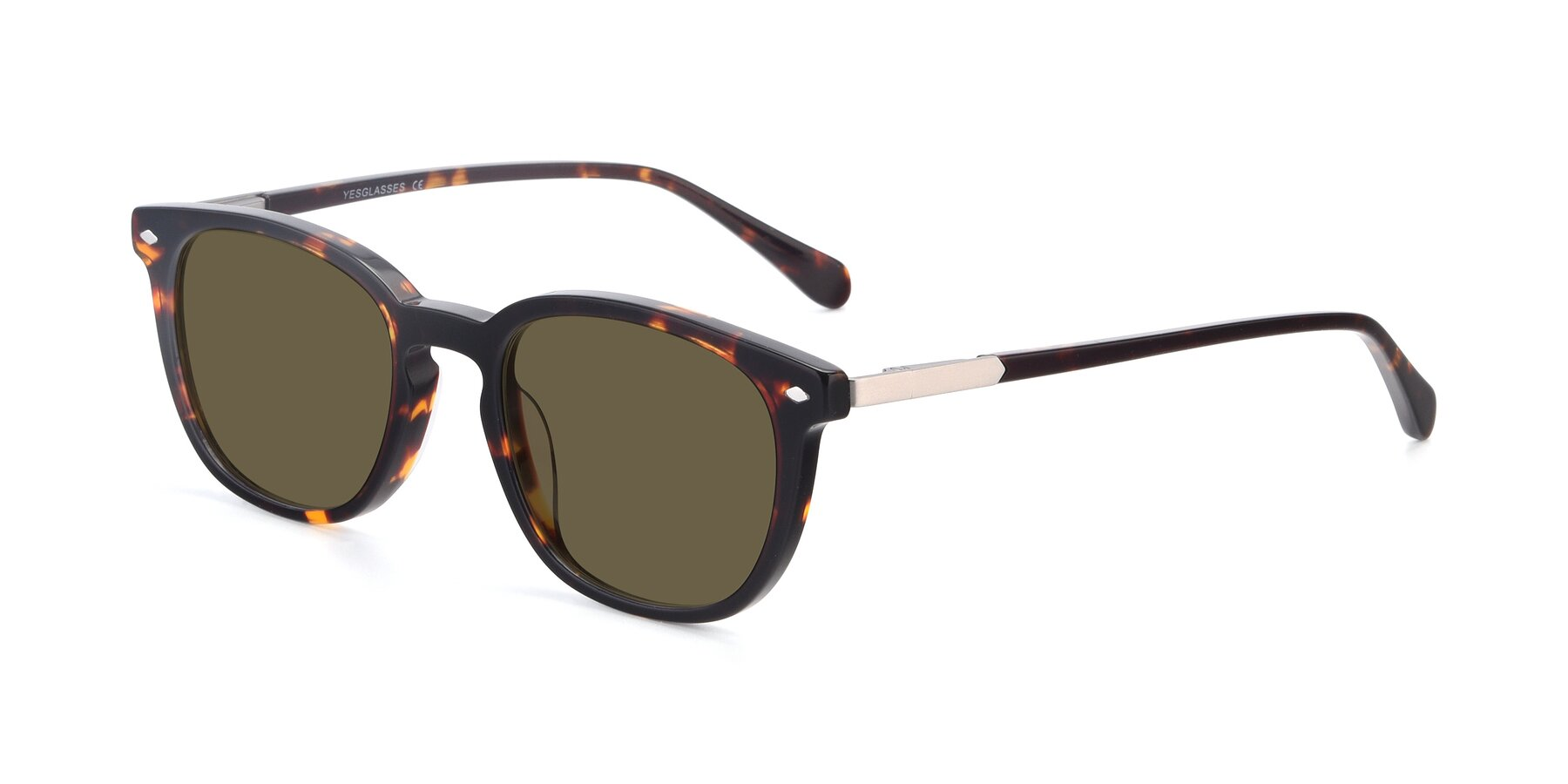 Angle of 17578 in Tortoise with Brown Polarized Lenses