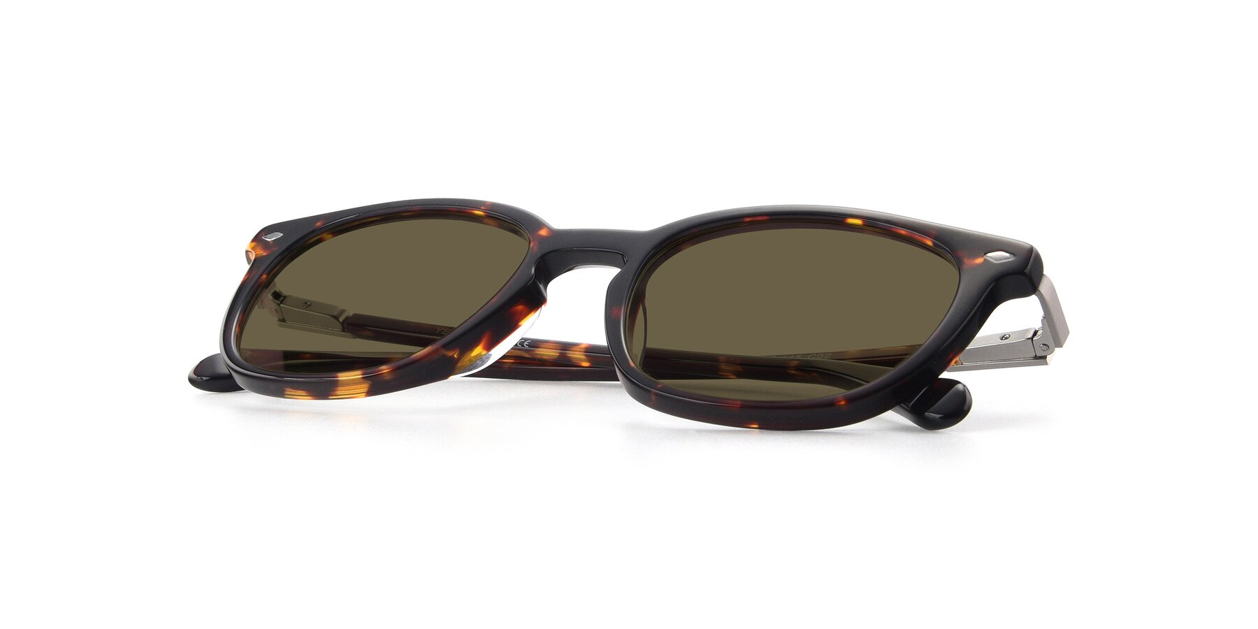View of 17578 in Tortoise with Brown Polarized Lenses