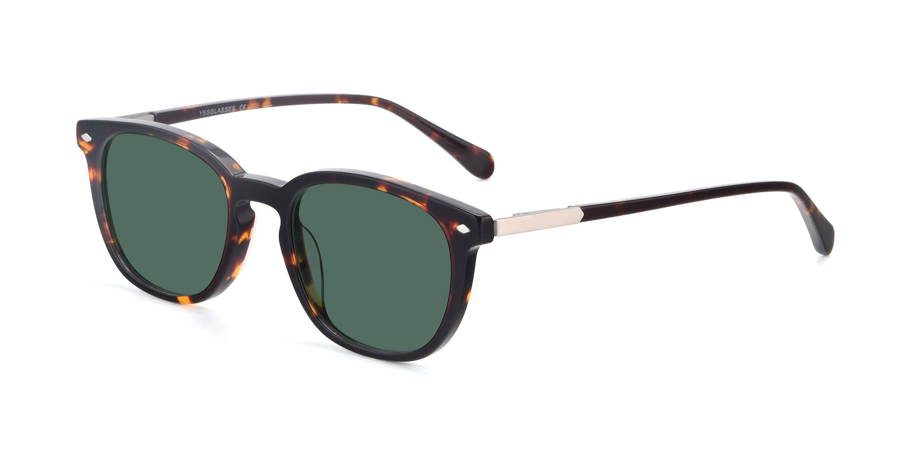 Angle of 17578 in Tortoise with Green Polarized Lenses