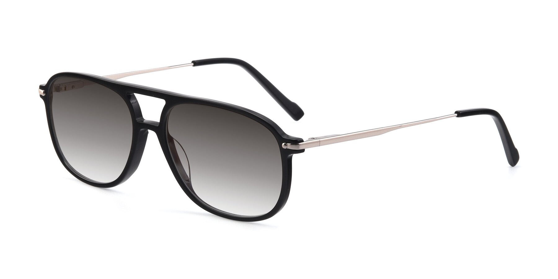 Angle of 17580 in Black with Gray Gradient Lenses