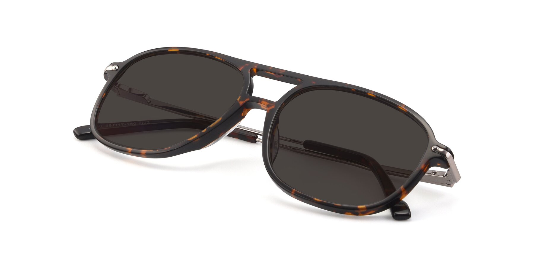 View of 17580 in Tortoise with Gray Tinted Lenses