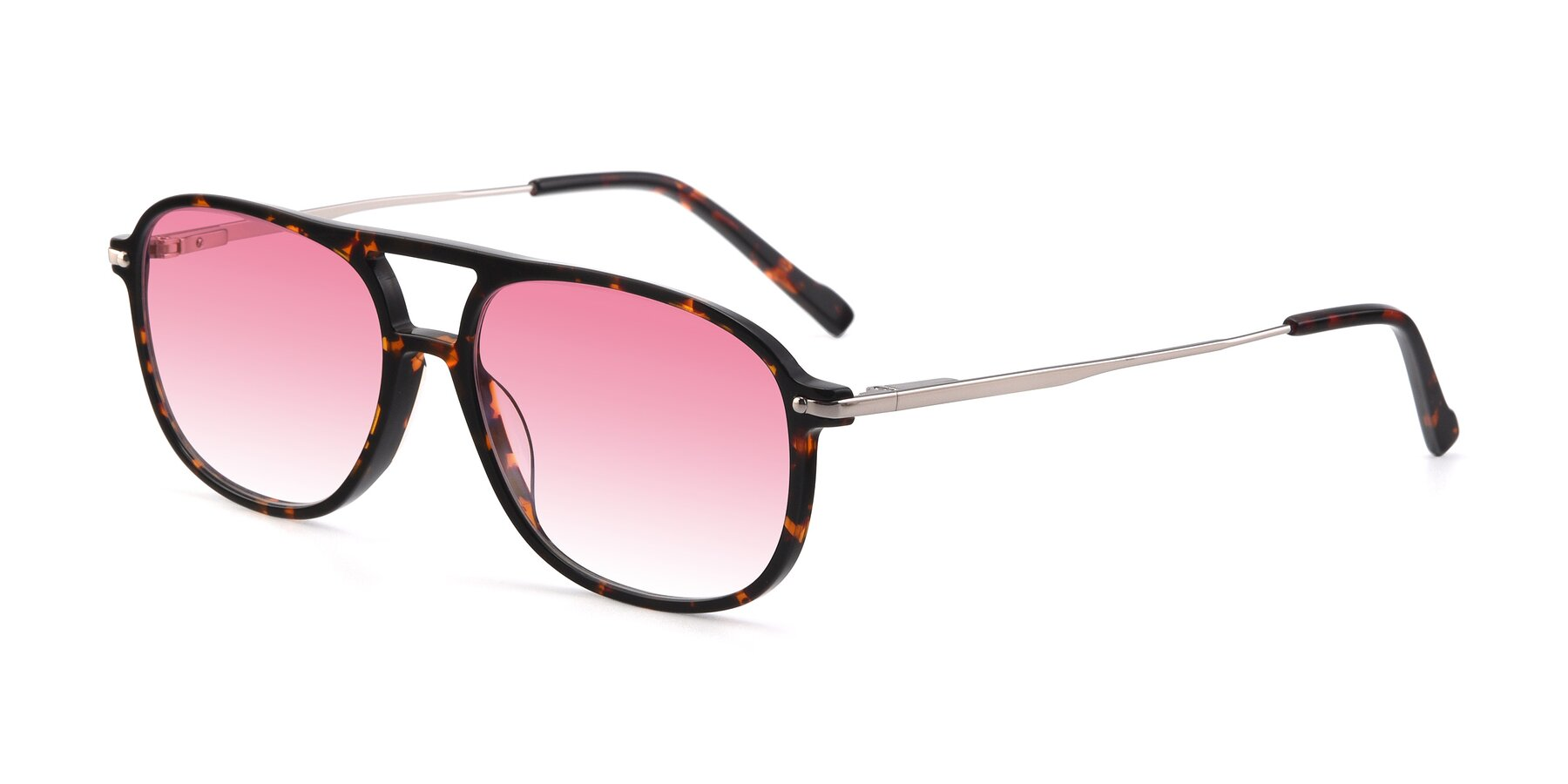 Angle of 17580 in Tortoise with Pink Gradient Lenses