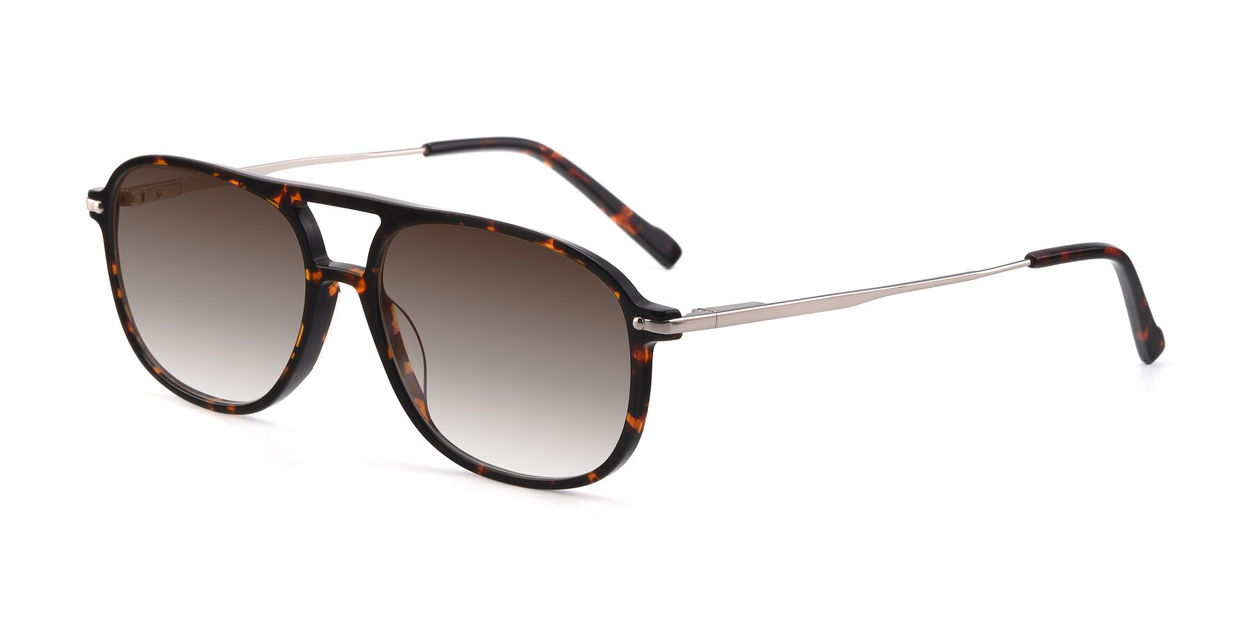 Angle of 17580 in Tortoise with Brown Gradient Lenses