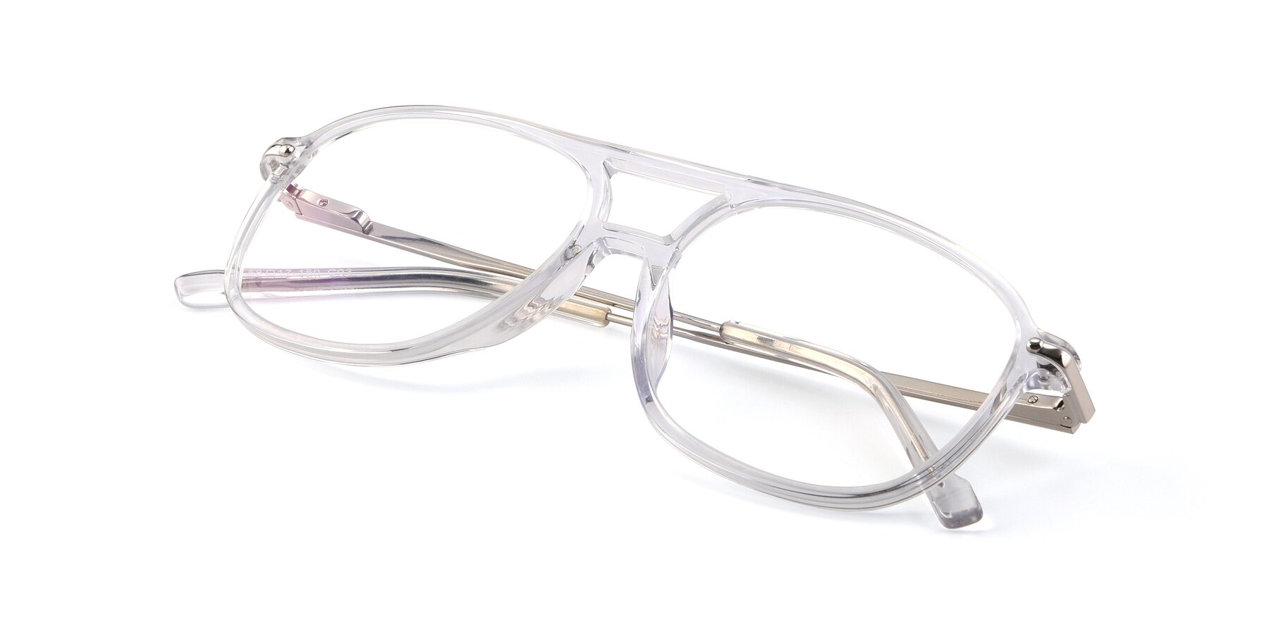 View of 17580 in Clear with Clear Eyeglass Lenses