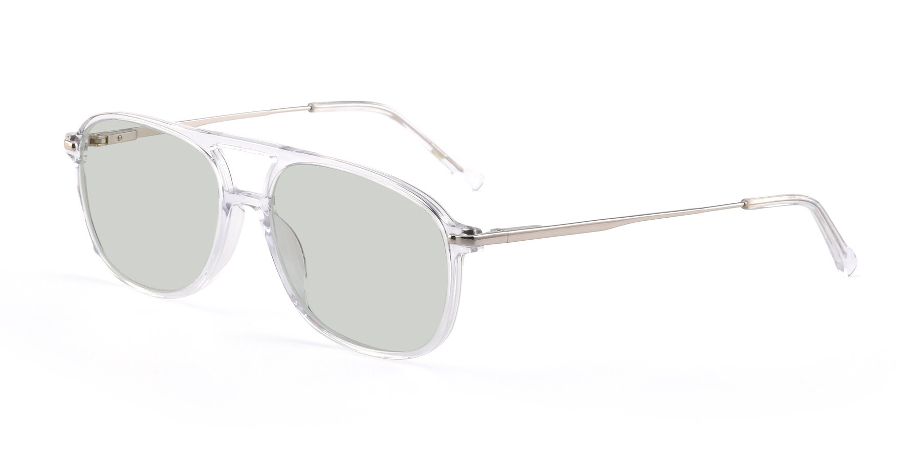 Angle of 17580 in Clear with Light Green Tinted Lenses