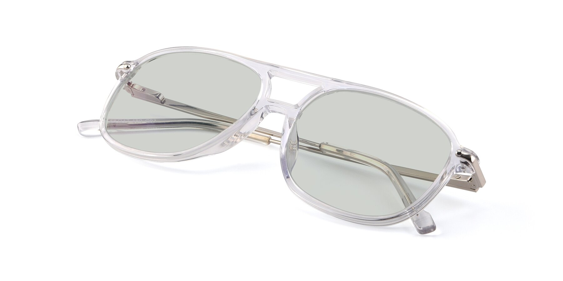 View of 17580 in Clear with Light Green Tinted Lenses