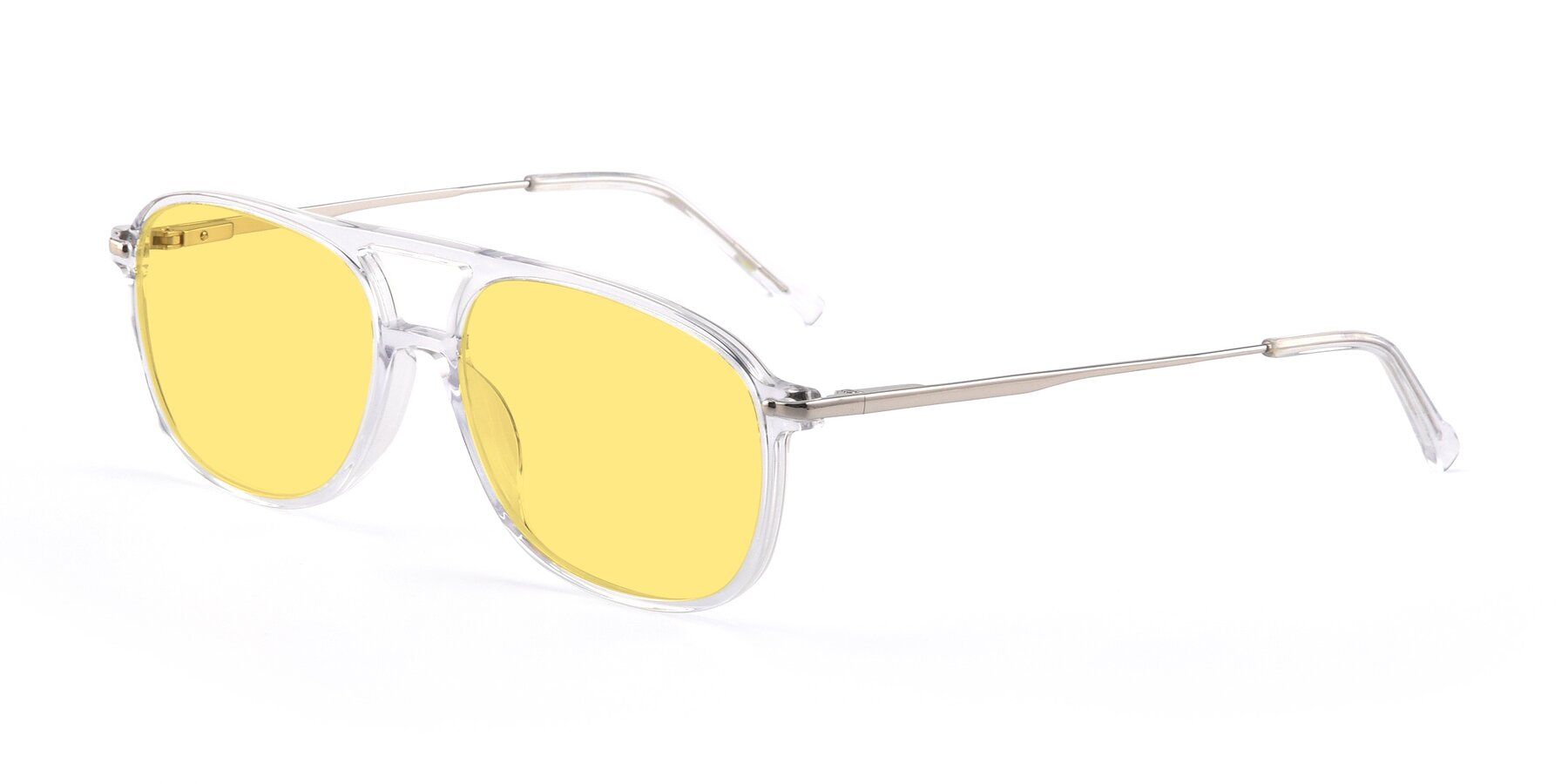 Angle of 17580 in Clear with Medium Yellow Tinted Lenses