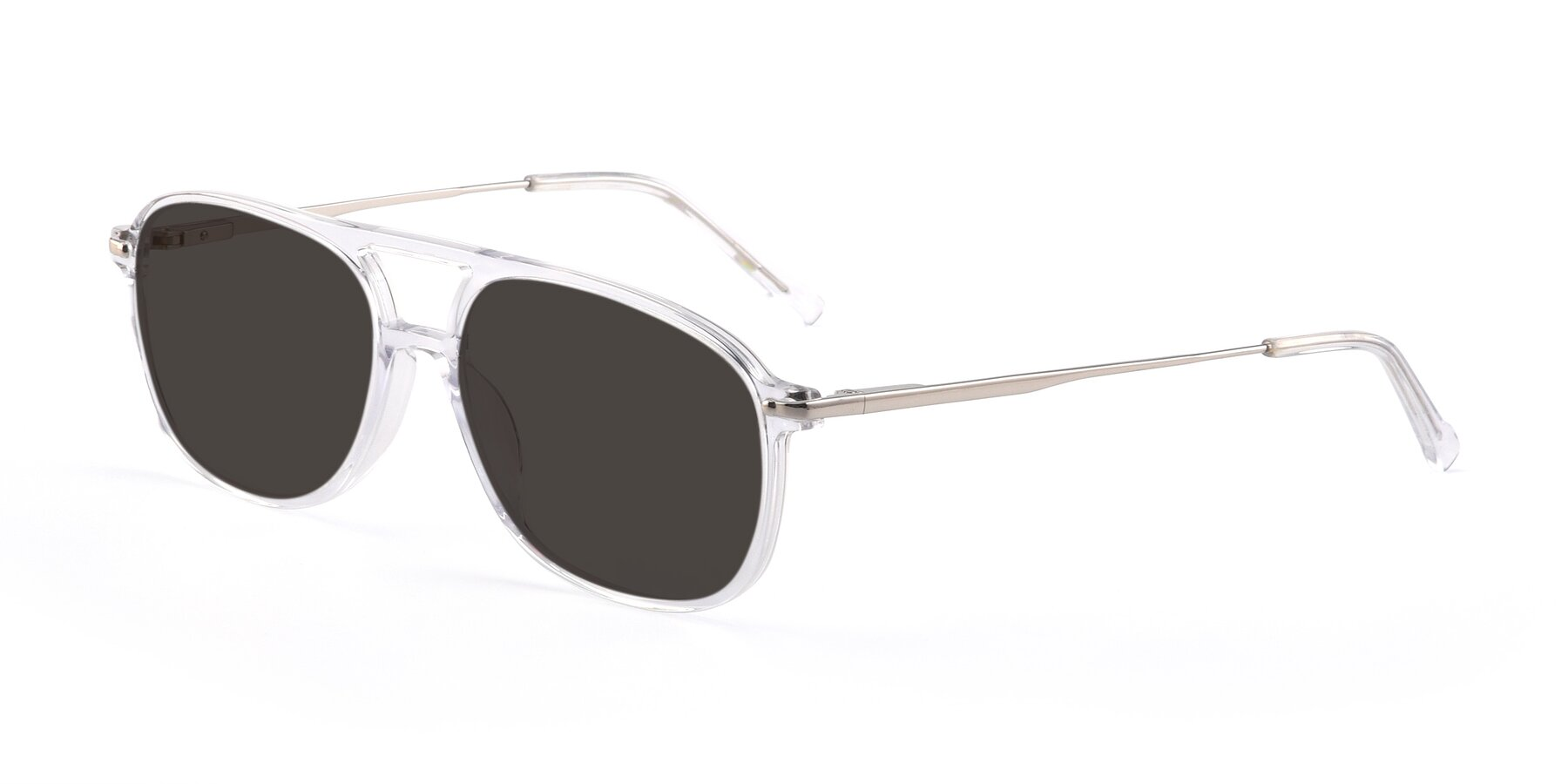 Angle of 17580 in Clear with Gray Tinted Lenses