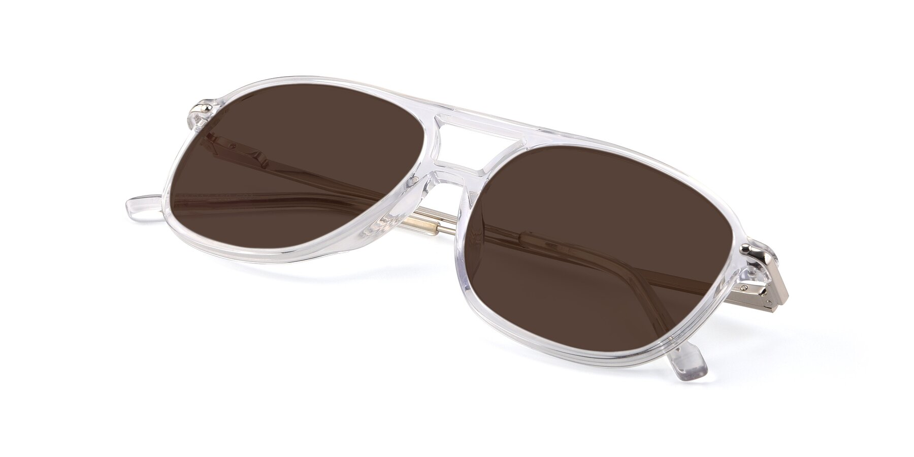 View of 17580 in Clear with Brown Tinted Lenses