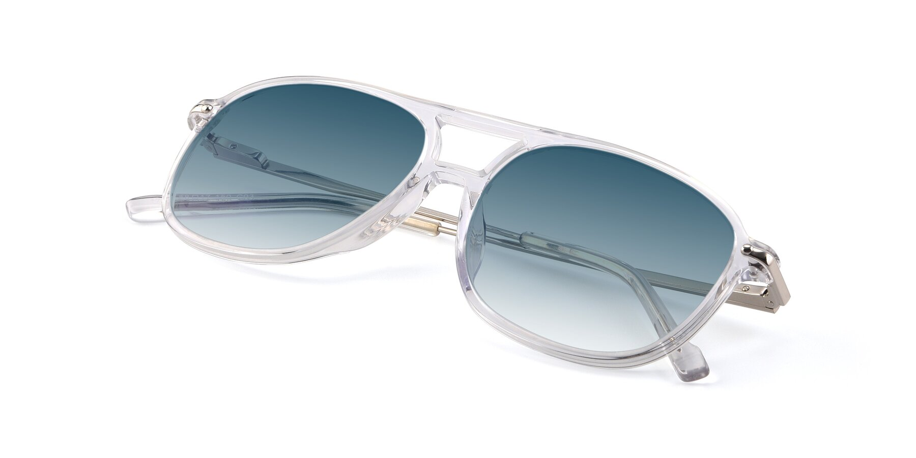 View of 17580 in Clear with Blue Gradient Lenses