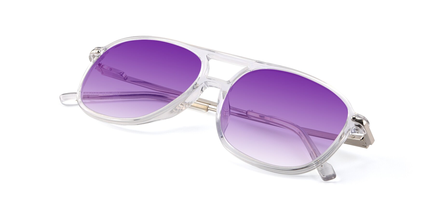 View of 17580 in Clear with Purple Gradient Lenses