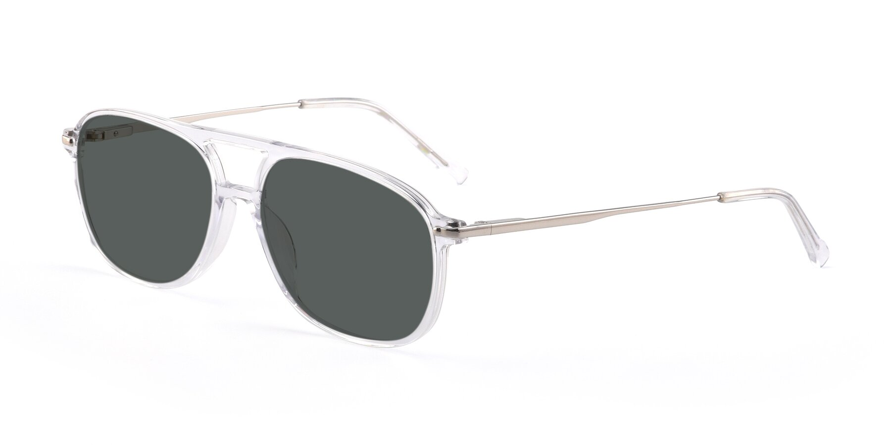 Angle of 17580 in Clear with Gray Polarized Lenses