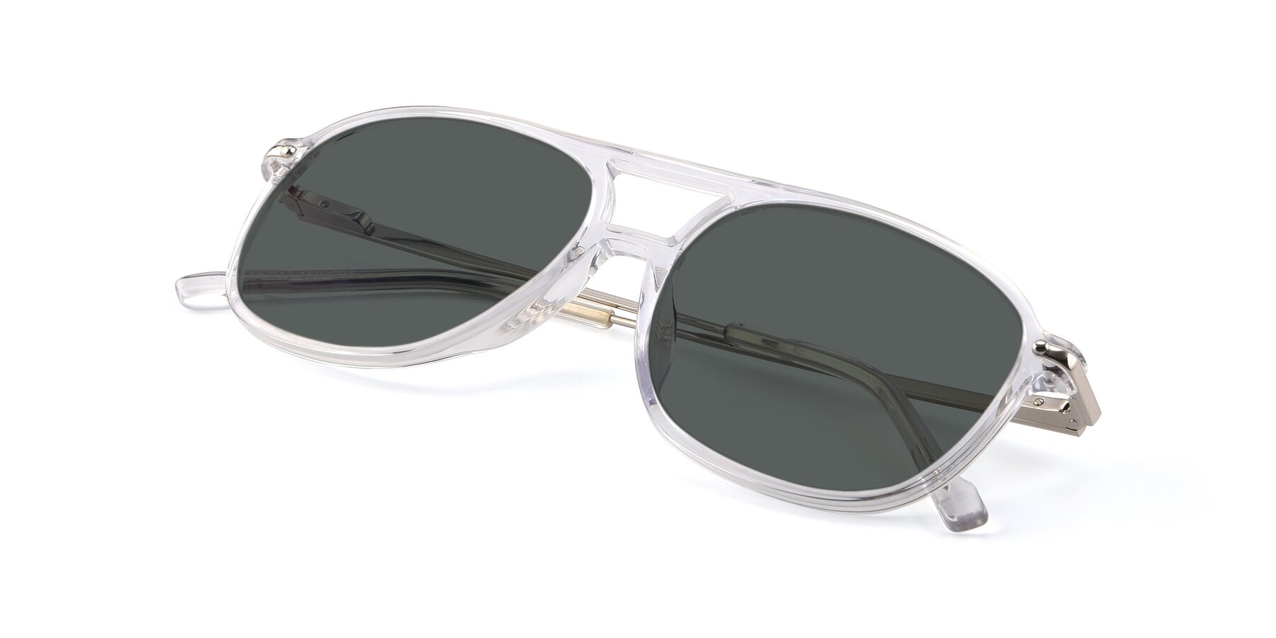 View of 17580 in Clear with Gray Polarized Lenses