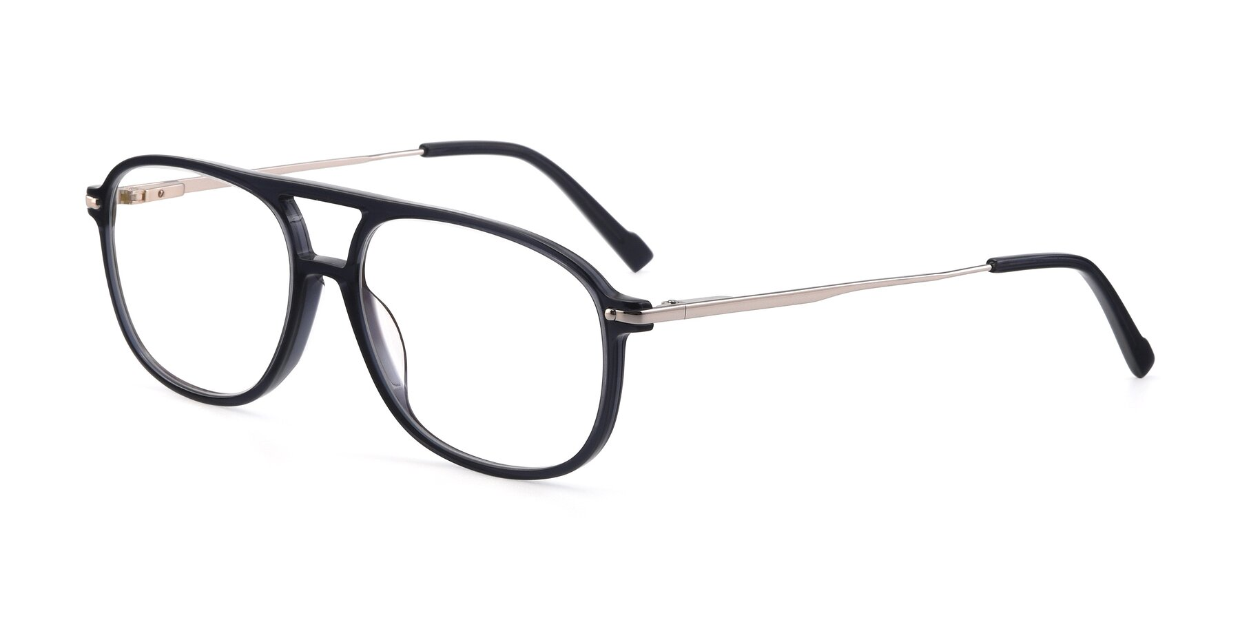 Angle of 17580 in Dark Bluish Gray with Clear Blue Light Blocking Lenses
