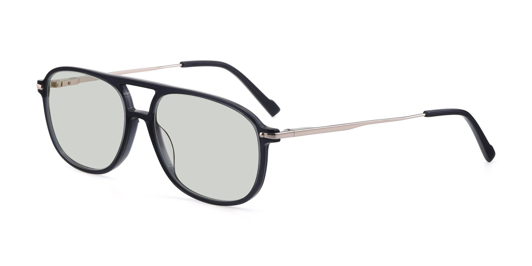 Angle of 17580 in Dark Bluish Gray with Light Green Tinted Lenses