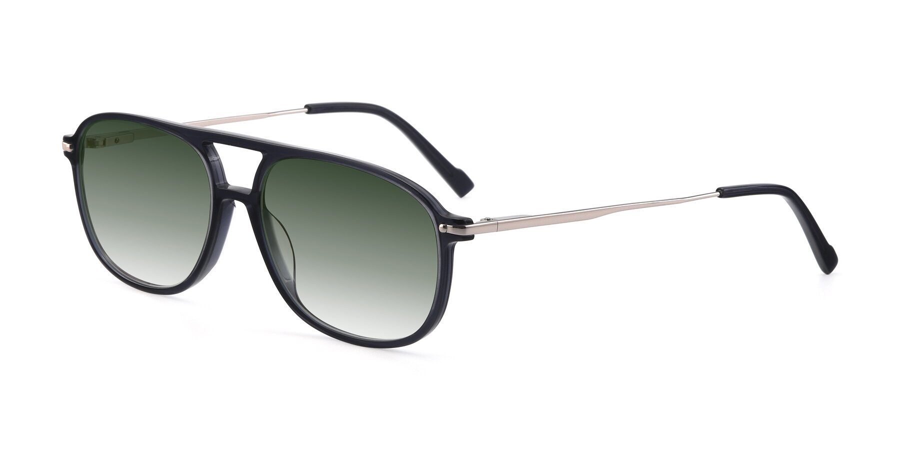 Angle of 17580 in Dark Bluish Gray with Green Gradient Lenses