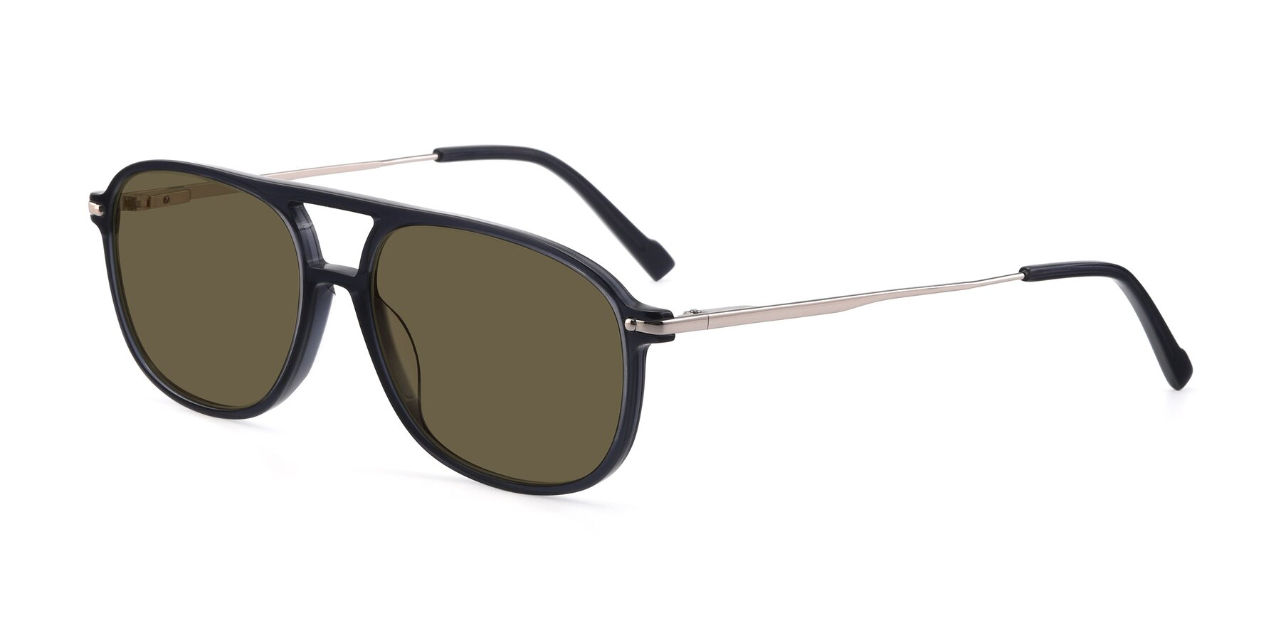 Angle of 17580 in Dark Bluish Gray with Brown Polarized Lenses
