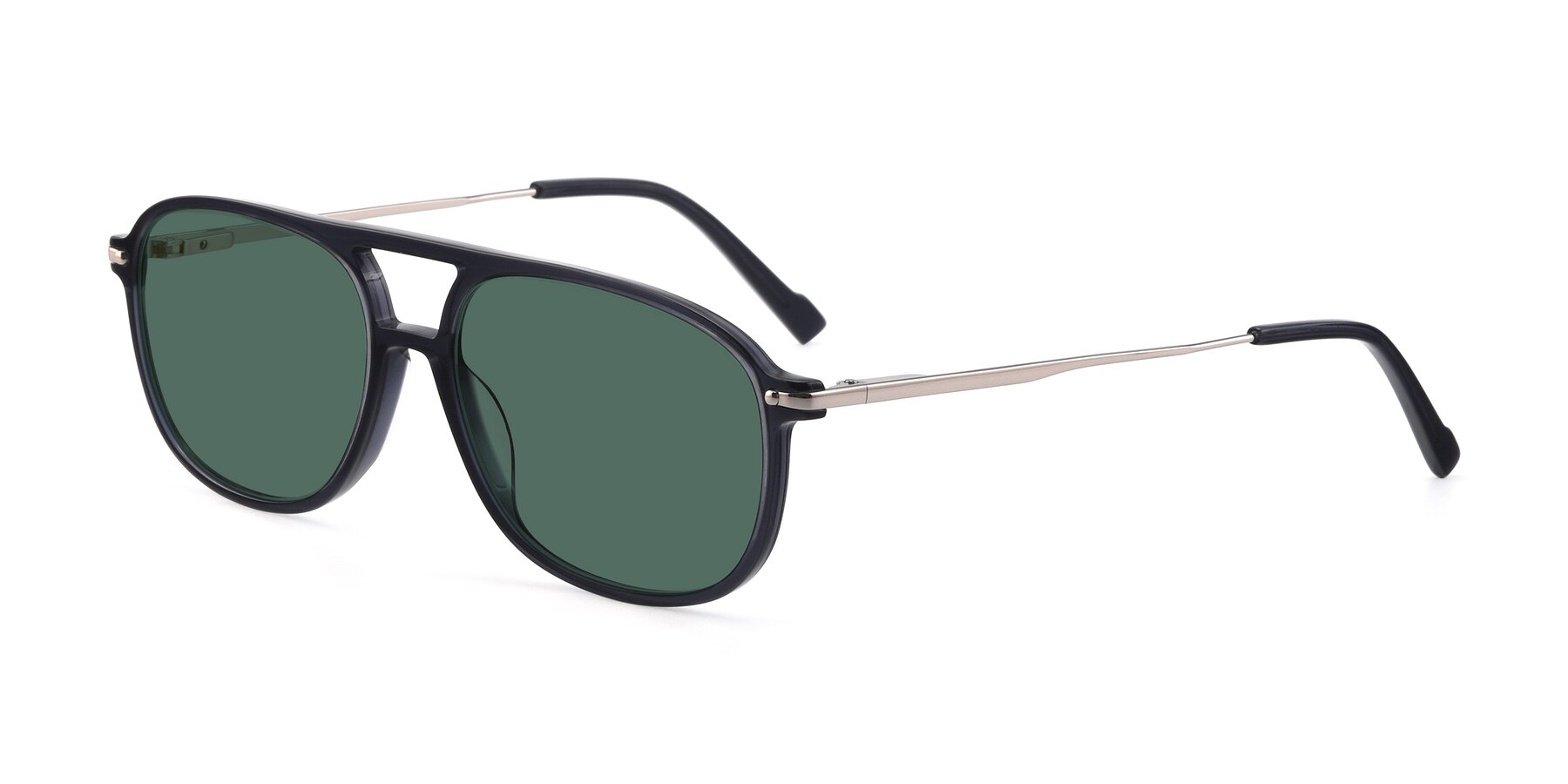 Angle of 17580 in Dark Bluish Gray with Green Polarized Lenses