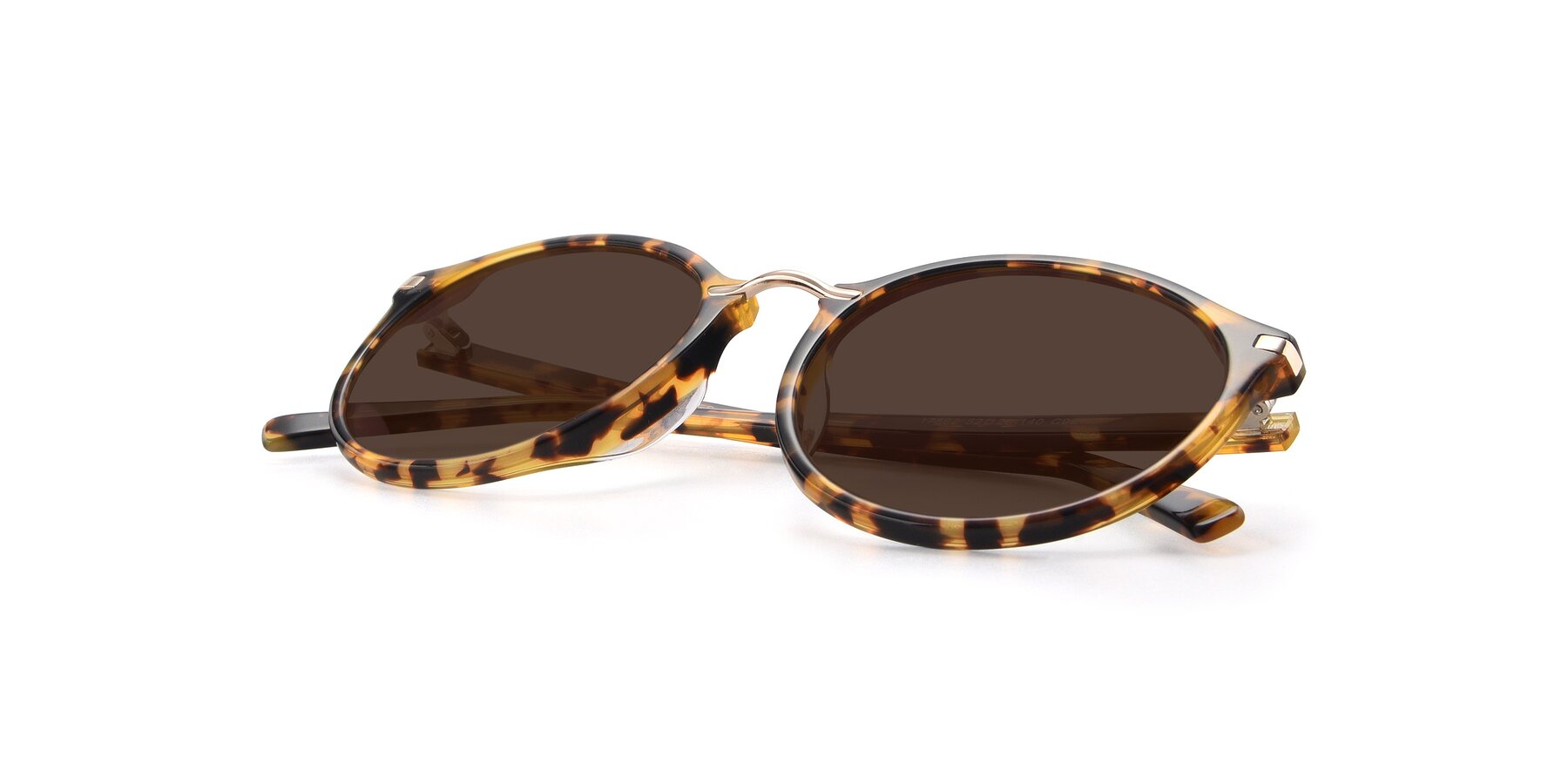 View of 17582 in Tortoise with Brown Tinted Lenses