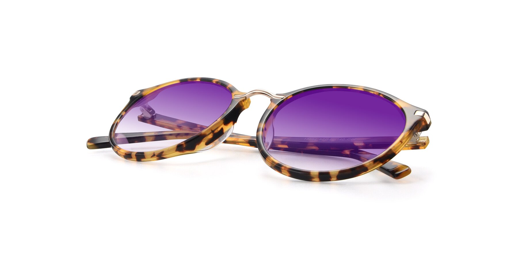 View of 17582 in Tortoise with Purple Gradient Lenses