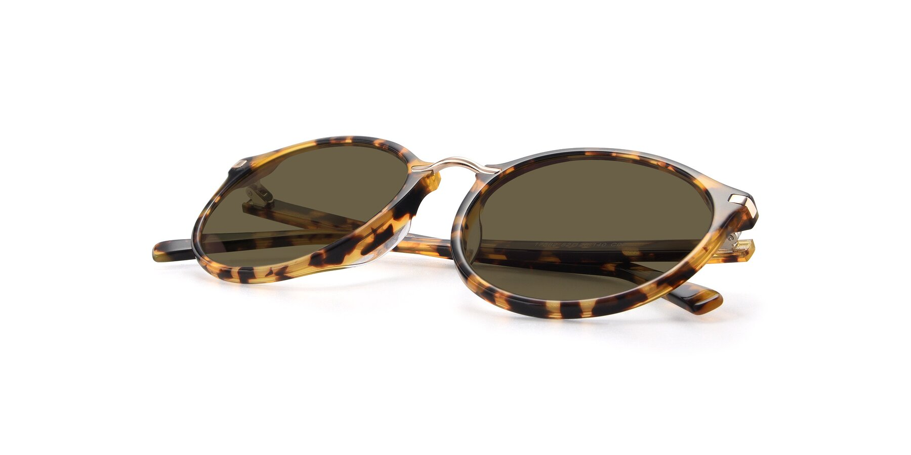View of 17582 in Tortoise with Brown Polarized Lenses