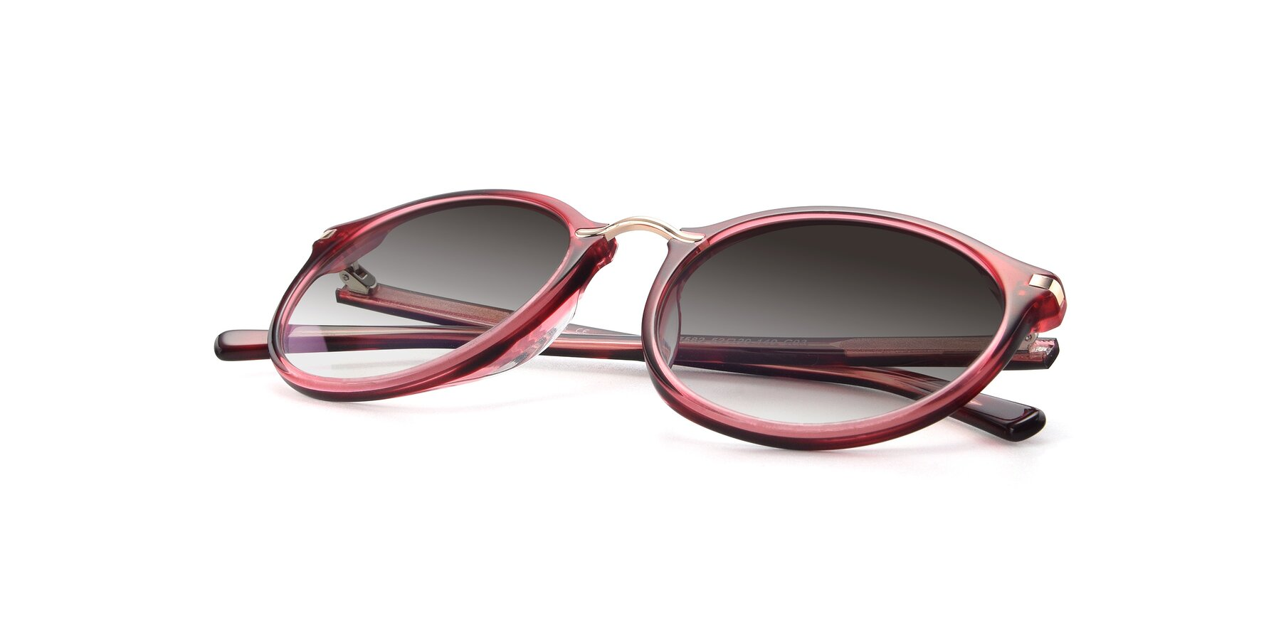 View of 17582 in Wine with Gray Gradient Lenses