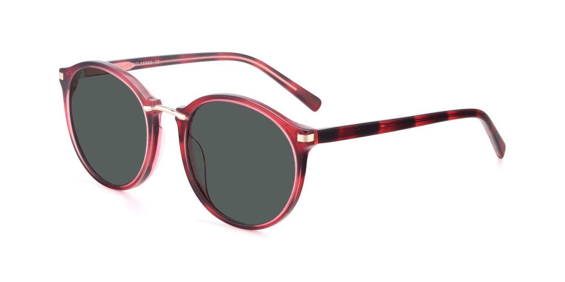 Angle of 17582 in Wine with Gray Polarized Lenses